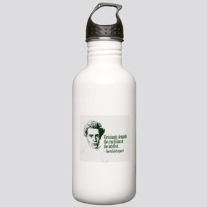 Kierkegaard on Christianity Stainless Water Bottle