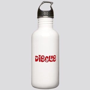 The Discus Heart Desig Stainless Water Bottle 1.0L