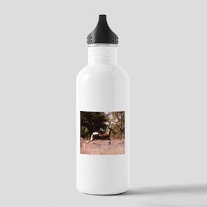 White-Tail Deer Runnin Stainless Water Bottle 1.0L