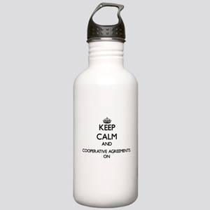Keep Calm and Cooperat Stainless Water Bottle 1.0L