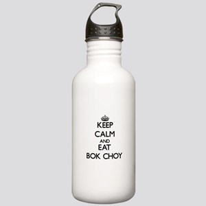 Keep calm and eat Bok Choy Water Bottle