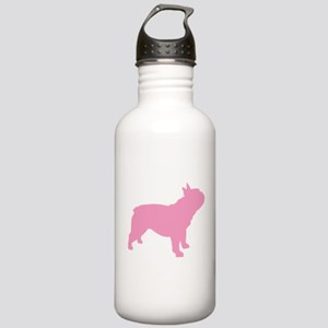 Pink French Bulldog Stainless Water Bottle 1.0L