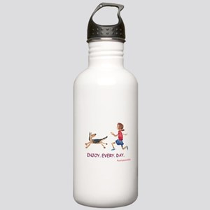 enjoy. every. day. 2 Stainless Water Bottle 1.0L