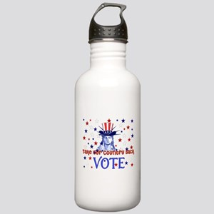 Vote Democratic Stainless Water Bottle 1.0L