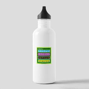 I Wanna Be-Keith Urban/t-shirt Water Bottle