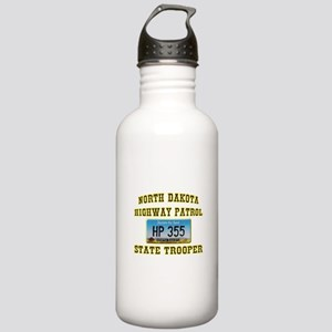North Dakota Highway Patrol Stainless Water Bottle