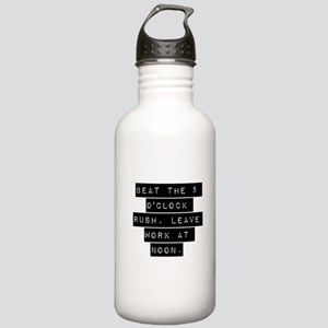 Beat the 5 OClock Rush Water Bottle