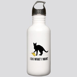 I Do What I Want Stainless Water Bottle 1.0L