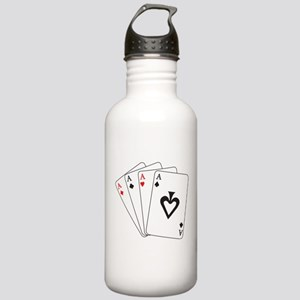 Four Aces Water Bottle