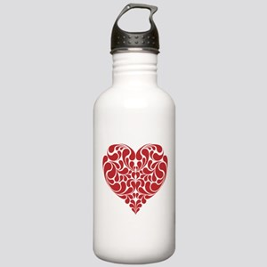 Real Heart Stainless Water Bottle 1.0L