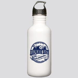 A-Basin Old Circle Blue Stainless Water Bottle 1.0
