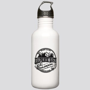 A-Basin Old Circle Black Stainless Water Bottle 1.