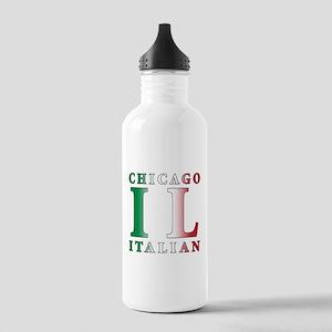 Chicago Italian Stainless Water Bottle 1.0L