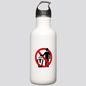 No Trashing Babies Stainless Water Bottle 1.0L