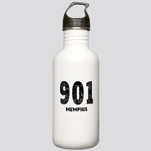 901 Memphis Distressed Water Bottle
