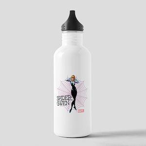 Spider-Gwen Unmasked Stainless Water Bottle 1.0L