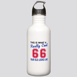 Really Cool 66 Birthda Stainless Water Bottle 1.0L