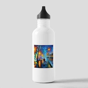 Evening Walk Sports Water Bottle