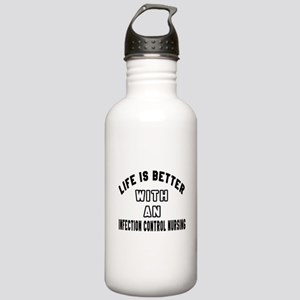 Infection Control Nurs Stainless Water Bottle 1.0L