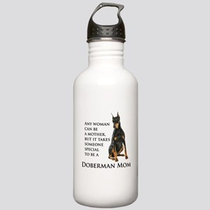 Doberman Mom Water Bottle