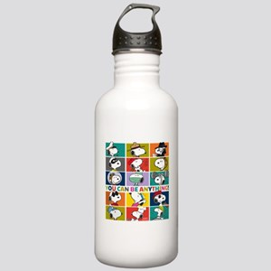 Snoopy-You Can Be Anyt Stainless Water Bottle 1.0L