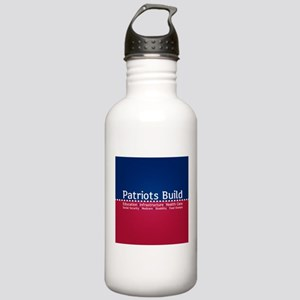 Patriots Build Water Bottle
