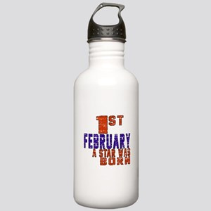 1 February A Star Was Stainless Water Bottle 1.0L
