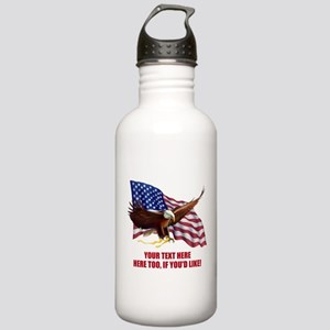 PERSONALIZED AMERICAN Stainless Water Bottle 1.0L
