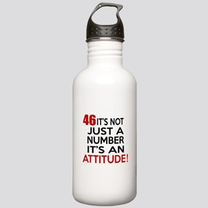 46 It Is Not Just a Nu Stainless Water Bottle 1.0L