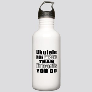 Ukulele More Awesome Stainless Water Bottle 1.0L