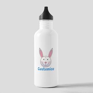 Custom Easter Bunny Stainless Water Bottle 1.0L