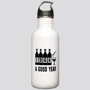1968 A Good Year, Chee Stainless Water Bottle 1.0L