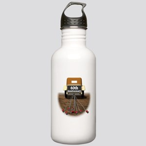 60th Wedding Anniversary Stainless Water Bottle 1.