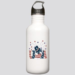 USA Fireworks Stainless Water Bottle 1.0L