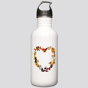 Dog Love Stainless Water Bottle 1.0L