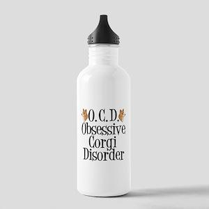 Corgi Obsessed Stainless Water Bottle 1.0L