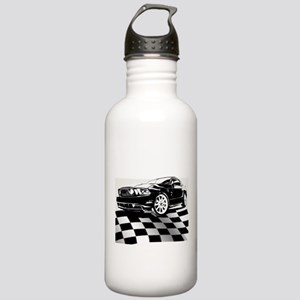 2011 Mustang Flag Stainless Water Bottle 1.0L