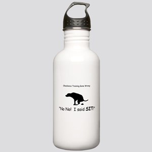 I said sit! Stainless Water Bottle 1.0L