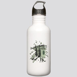 100 Dollar Blot Stainless Water Bottle 1.0L