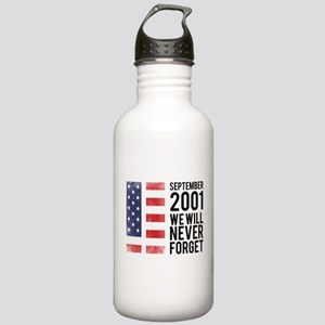 9 11 Remembering Stainless Water Bottle 1.0L