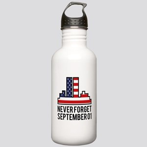 9 11 Never Forget Stainless Water Bottle 1.0L