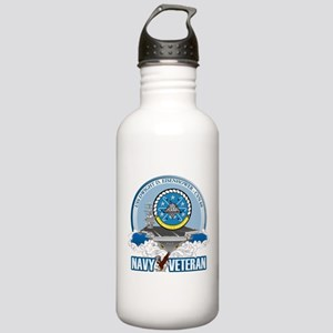 CVN-69 USS Eisenhower Stainless Water Bottle 1.0L