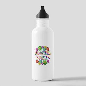 Flower Power Stainless Water Bottle 1.0L