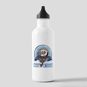 CVN-65 USS Enterprise Stainless Water Bottle 1.0L