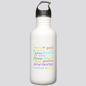Fitness Collage Stainless Water Bottle 1.0L