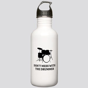 Don't Mess With Stainless Water Bottle 1.0L