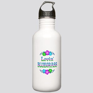Lovin Bluegrass Stainless Water Bottle 1.0L