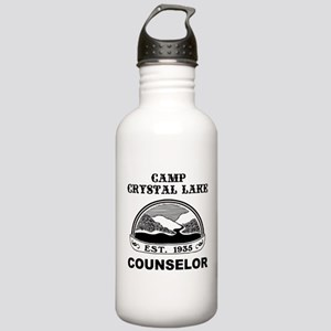 Camp Crystal Lake Counselor Stainless Water Bottle
