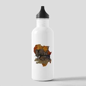 Safari Stainless Water Bottle 1.0L
