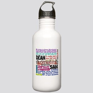 Supernatural Quotes Stainless Water Bottle 1.0L